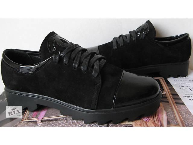 купить бу Chanel ! Женские стильные туфли Шанель черные марсала кожаные  осень весна слипоны натуральная замша 845a28fb2cc