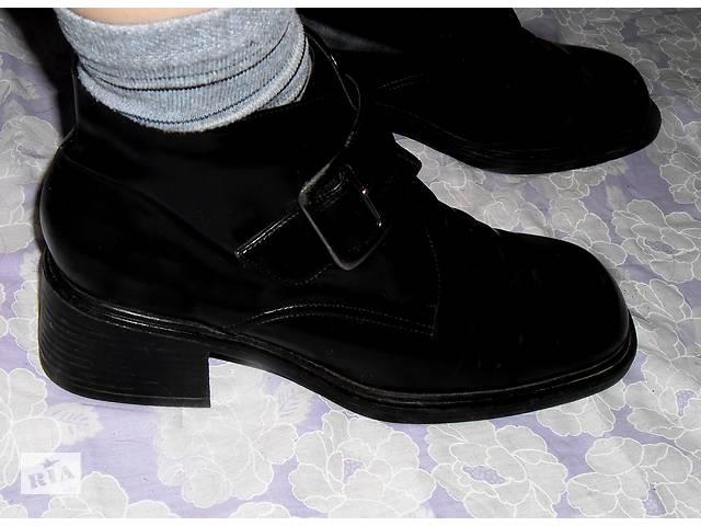 купить бу Черные ботинки, ботильоны, полусапожки Marco Tozzi, Италия в Мукачево