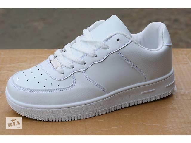 891330ba Кроссовки Nike Air Force 1 low найк аир форс белые white низкие- объявление  о продаже