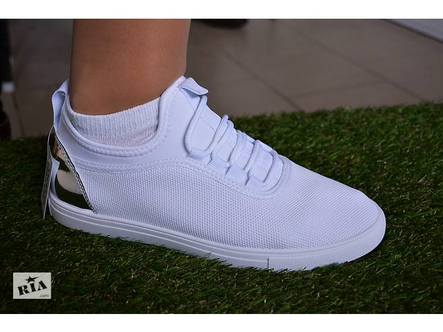 c3104f4dbeb0fe Жіночі кеди кросівки сітка, сіточка ажурні білі- объявление о продаже в  Южноукраїнську