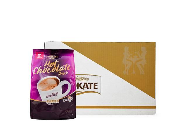 купить бу Шоколад Mokate Caffetteria Milk Chocolate, молочный шоколад и магний, 18г*10шт, 12 уп. в Киеве