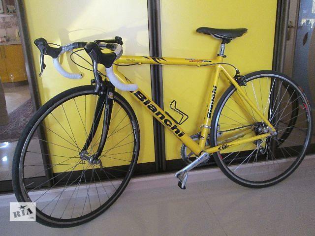 Шоссейный велосипед Bianchi + вело-аксессуары!- объявление о продаже  в Киеве