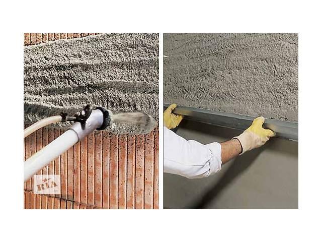Штукатурка цементно-известковая ( только Львов, Тернополь и обл. )- объявление о продаже  в Тернополе