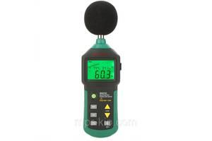 Шумомер Mastech MS6702 (30-130 dB) с измерением температуры и влажности (-20°C + 60°C; 0-100%)