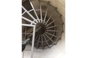 Сходи з металокаркасу, лестницы, сходові клітки, зварювальні роботи, виготовлення