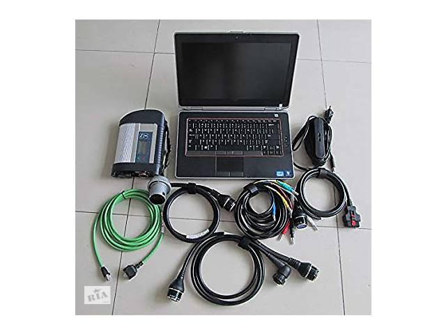 продам Комплект для диагностики Mercedes+ Ноутбук Dell бу, Star Dianosis 4, установленные программы, видео курс по работе бу в Днепре (Днепропетровск)