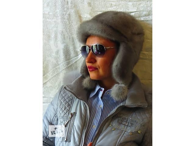 купить бу согреет в холода.натуральная норка.шапка в Киеве