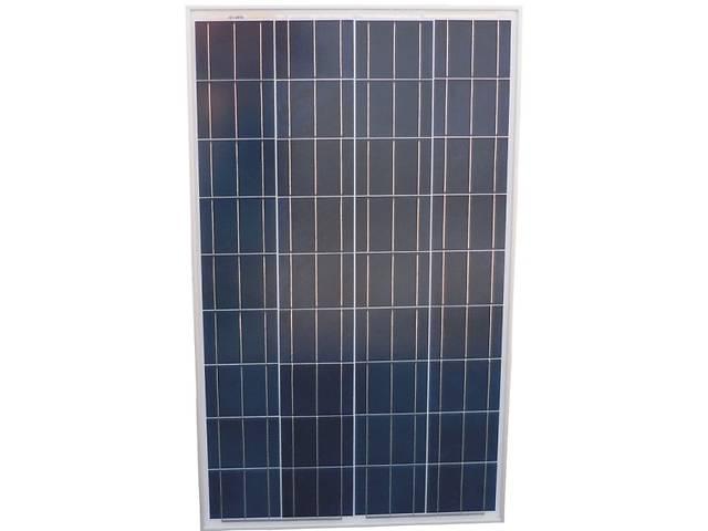 купить бу Солнечная батарея (панель) 100Вт, 12В, поликристаллическая, в Запорожье
