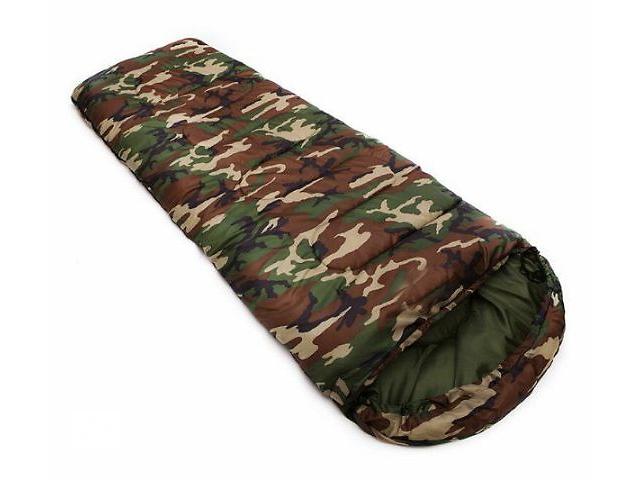 Спальник,спальный мешок,одеяло,комуфляжный, до -8. Новый.- объявление о продаже  в Одессе