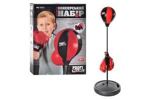 Детский боксерский набор на стойке (груша напольная с перчатками для детей) MS 0331