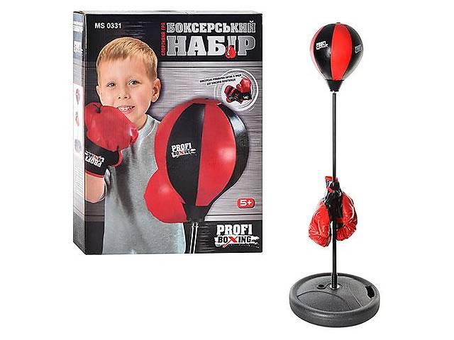 бу Детский боксерский набор на стойке (груша напольная с перчатками для детей) MS 0331  в Украине