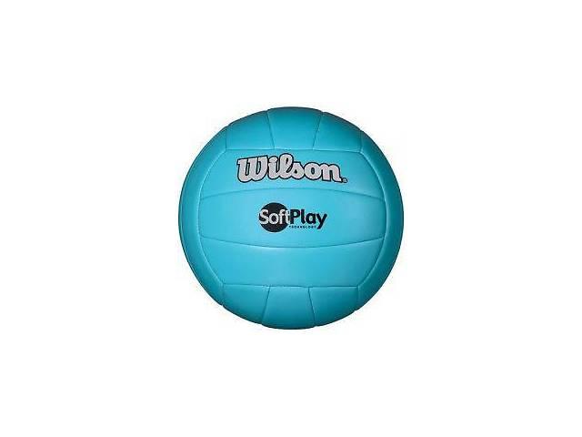 Мяч волейбольный Wilson Soft Play Blue Art. 4ist-735424679- объявление о продаже  в Киеве
