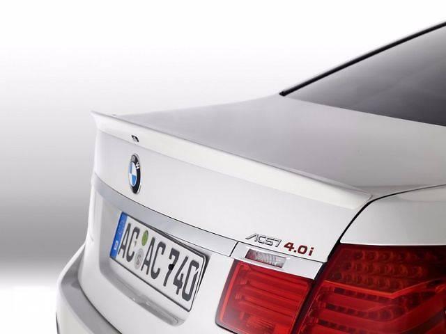 купить бу Спойлер сабля тюнинг BMW F01 / F02 БМВ Ф01 Ф02 в Луцке