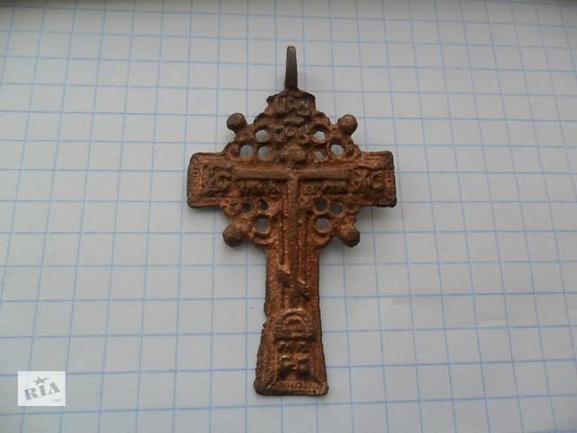 купить бу старинный крестик штурвал козацкий крест в Кропивницком (Кировоград)