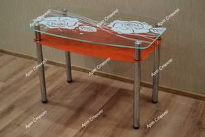 Нові Кухонні столи скляні