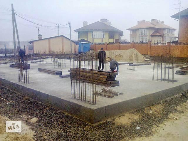 продам Строительство фундаментов фундаментная плита бу  в Украине