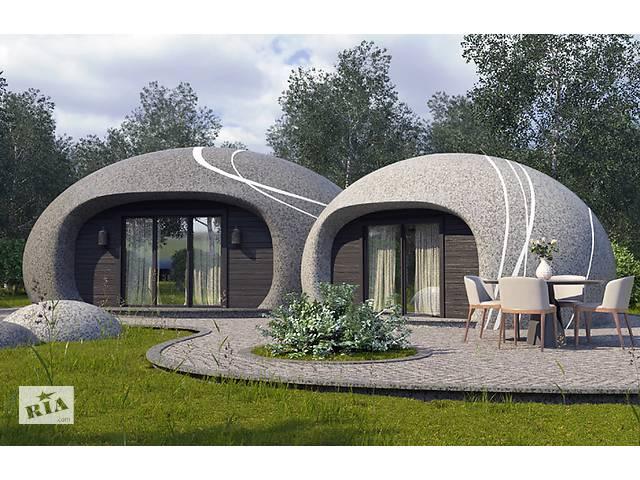 бу Строительство монолитных купольных домов с применением метода торкретирования (напыления бетона).  в Україні