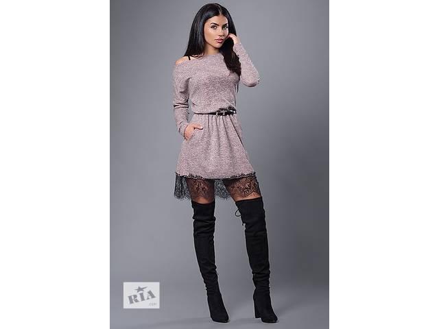 бу Стильное платье с гипюром в Хмельницком