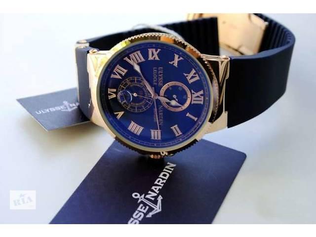 """продам Стильные наручные часы от Ulysse Nardin """"Marine"""" японского качества бу в Виннице"""