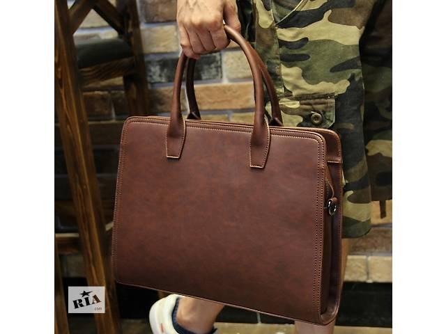 купить бу Стильный мужской портфель. Размер 39-30-10 см в Киеве