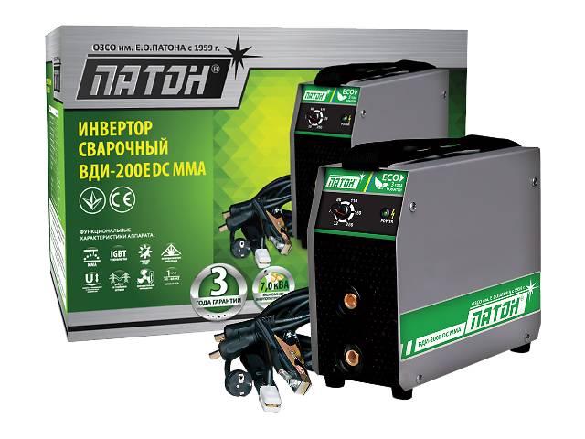 продам Сварочный инвертор Патон ВДИ-200Е DC MMA бу в Днепре (Днепропетровск)