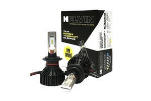 Светодиодные автолампы H7 Kelvin Ultra Led лампы для авто 8000Lm 6000