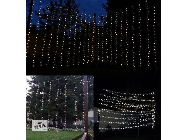 продам Светодиодные LED гирлянды шторы 3х3 м, аренда. бу в Киеве