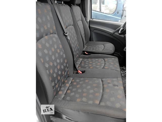 Сиденье переднее пассажирское, сидіння двойка Mercedes Vito (Viano) Мерседес Вито (Виано) V639 (109, 111, 115)- объявление о продаже  в Ровно