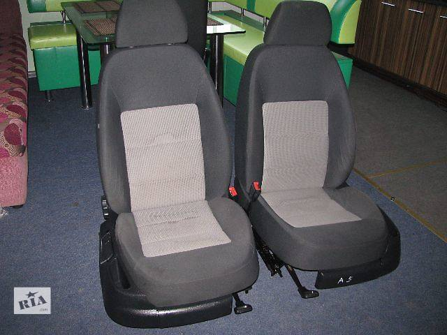 Сидіння передні, задні для Skoda Octavia A5 Хетчбек 2005р- объявление о продаже  в Львове