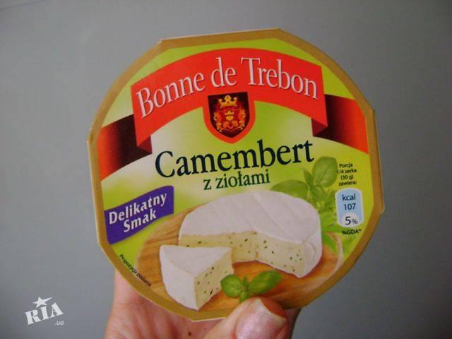 купить бу Сыр деликатесный Бри и Камамбер. 125г  в Украине