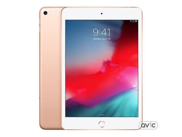 бу Планшет Apple iPad mini 5 Wi-Fi  plus  Cellular 256GB Gold (MUXP2, MUXE2) в Харькове