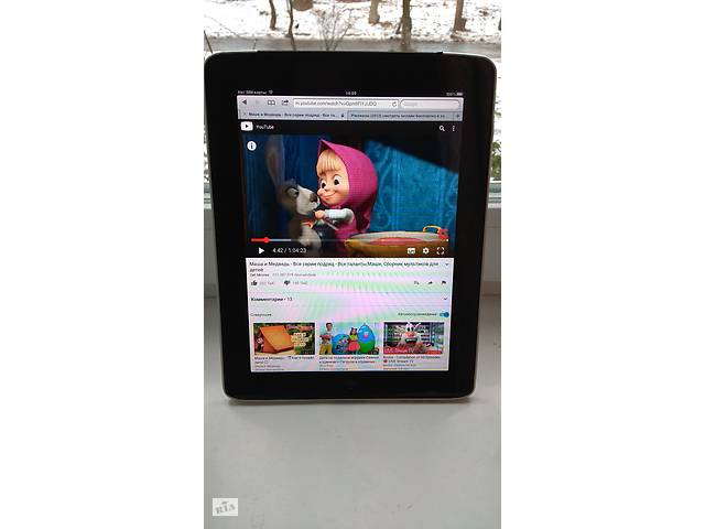Продам планшет Apple iPad1 64GB WiFi+ 3G Black ,состояние.