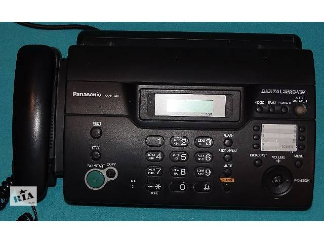 бу Телефон-факс Panasonic KX-FT 938  в Киеве