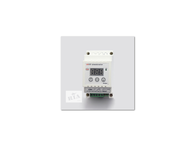 купить бу Терморегулятор (термореле) цифровой высокотемпературный на DIN-рейку в Днепре (Днепропетровск)