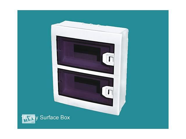 Коробка для 16 автоматов наружной установки