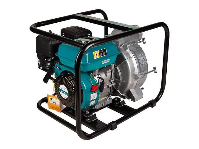 Мотопомпа 6.5л.с. Hmax 29м Qmax 60м³/ч (4-тактный) для грязной воды LEO 772517