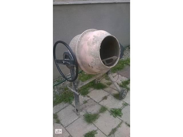 бу Продажа бетономешалки в Тернополе