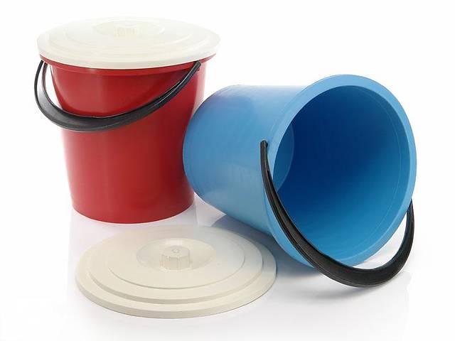 продам Ведро пластмассовое 10 л без крышки 0008 бу в Киеве