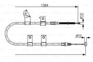Тормозной трос (пр-во Bosch)