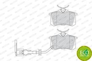 Тормозные колодки, к-кт. VW POLO (9N_) / SEAT CORDOBA (6L2) 1994-2014 г.