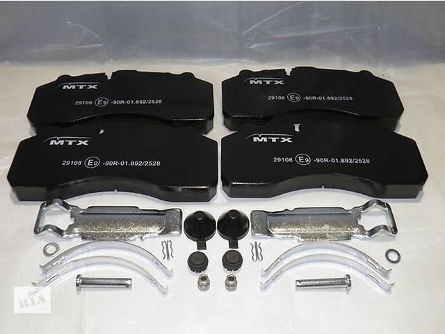 продам  Тормозные колодки комплект для грузовика MAN, DAF, VOLVO, RVI, Mercedes, Scania, Iveco бу в Луцке
