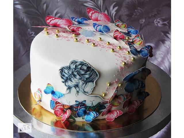 бу Торт на заказ, Детский торт на заказ, торт на День рождения, торт на юбилей, свадебный торт на заказ в Киевской области