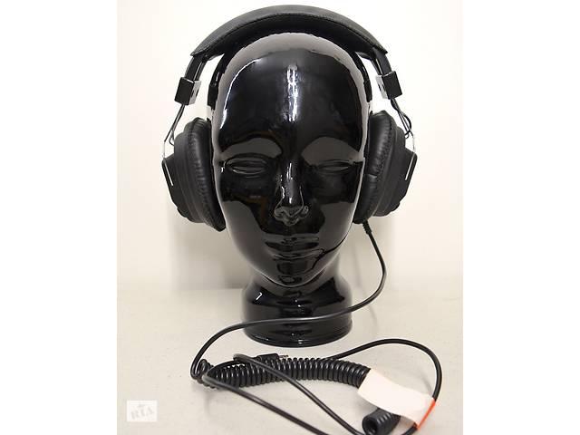 Навушники для металошукача (кручений шнур) Металодетектора металошукач- объявление о продаже  в Запоріжжі