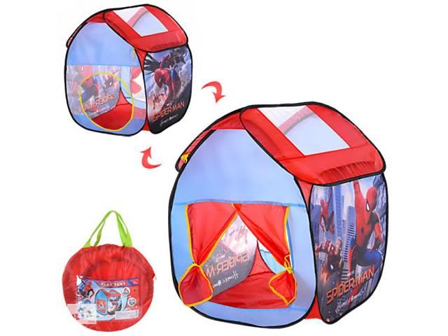 продам Палатка домик детская игровая Спайдермен (Человек паук), размер 67-67-85 см см, M 3740 бу  в Украине