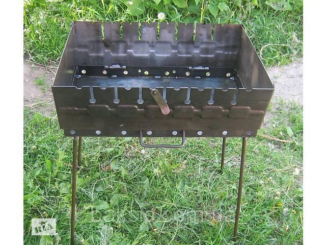 купить бу Раскладной мангал чемодан на 8 шампуров 2мм в Харькове