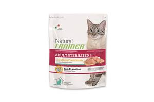 Trainer Natural Adult Sterilised with fresh White Meats корм для взрослых кошек
