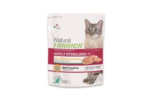 Trainer Natural Adult Sterilised with fresh White Meats корм для взрослых кошек