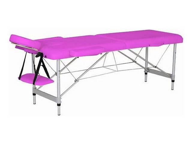 купить бу Массажный стол HouseFit HY-2010-1.3 розовый в Киеве