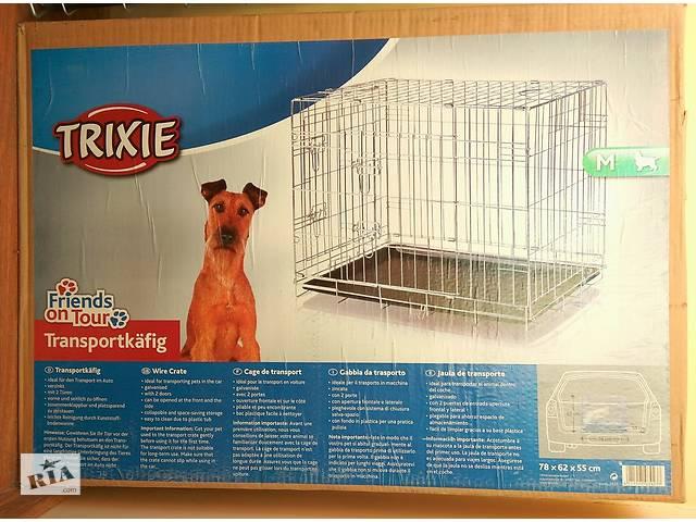 TRIXIE переноска клетка для собак с пластиковым поддоном 78х55х62h см- объявление о продаже  в Киеве