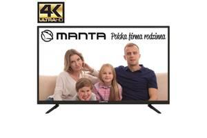 Телевизор Manta 43LUN58K (60Гц, UltraHD 4K, Dolby Digital 2 x 10Вт, DVB-C/T2)